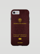 Pasaporte Colombiano Cell Phone Case