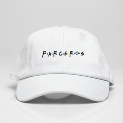 Parceros Dad Hat - White