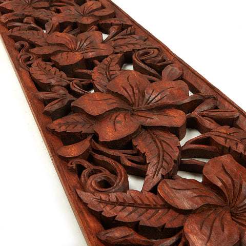 Decorative wood panel