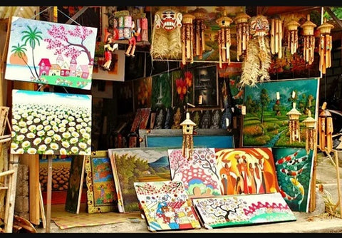 handcrafts from Bali