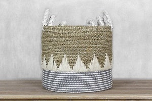 Adding handwoven basket to your home decoration