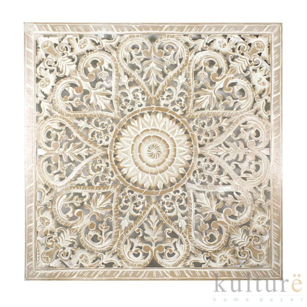 "Decorative Panel ""Jantung"" - Antic Wash 100 cm"