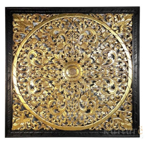 "Decorative Panel ""Lily"" Gold - 100 cm"