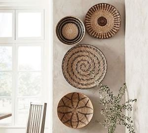 Decorating your home with hnadwoven basket