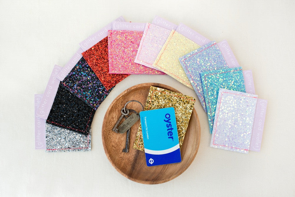 Glitter Card Wallet / Oyster Card Holder