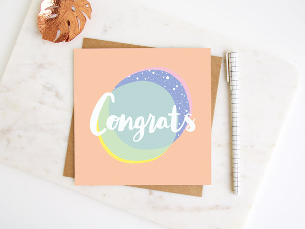 Congrats Greetings Card