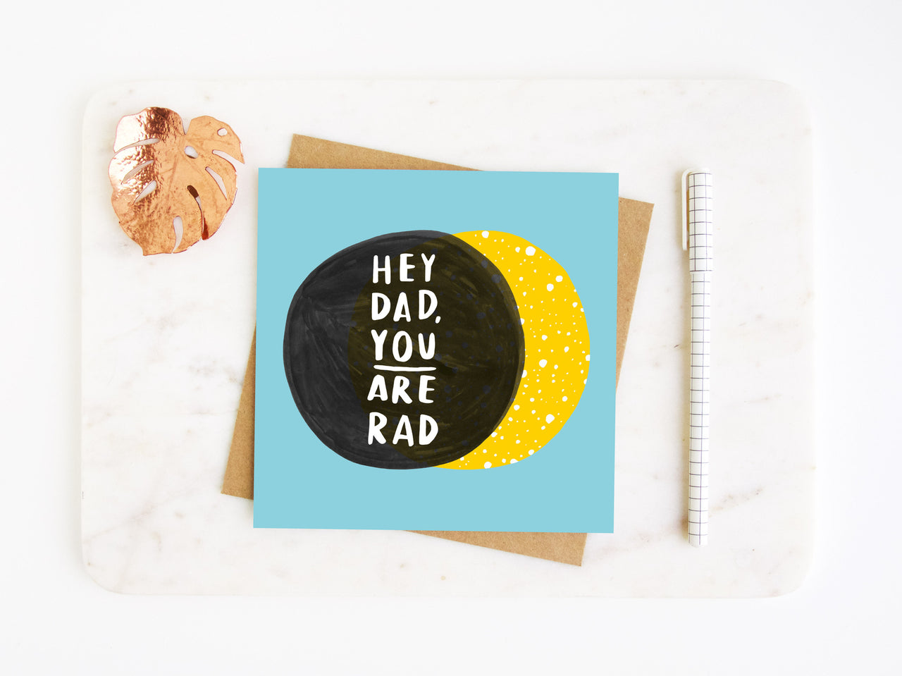 Rad Dad Fathers Day Card