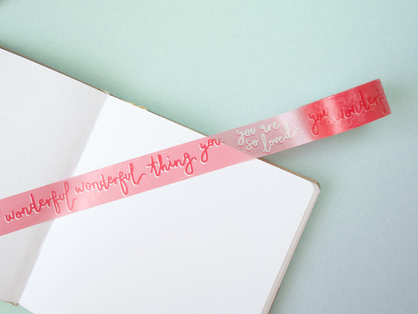 'You Are So Loved...' Washi Tape