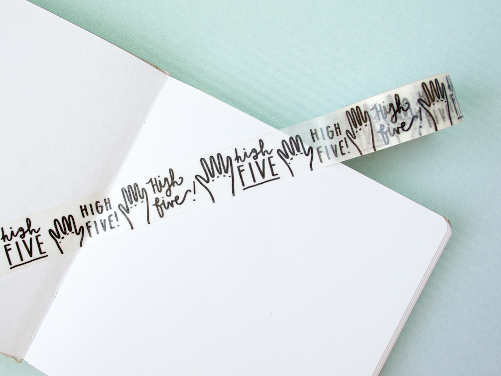 High Five Washi Tape