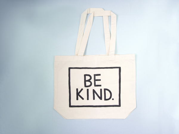 BE KIND Organic Cotton Tote