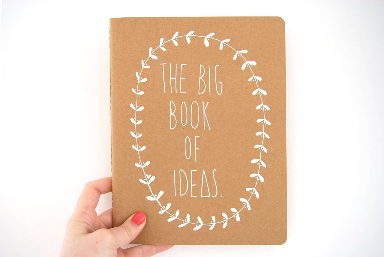 The Big Book of Ideas Notebook