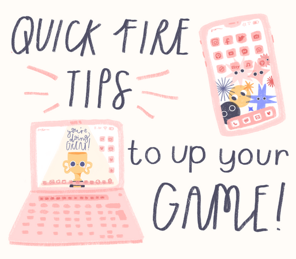 Insta/Etsy Review - Quick Fire Tips to Up Your Game!