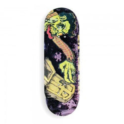 Berlinwood Pro Wooden Single Deck - Fast Fingers Graffiti