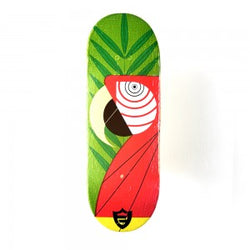 Berlinwood Pro Wooden Single Deck - Flat Face Parrot
