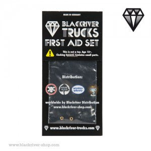 Blackriver Trucks First Aid Set - LOCK NUTS (2 NUTS)