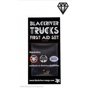 Blackriver Trucks First Aid Set - LOCK NUT SYSTEM (6 NUTS)