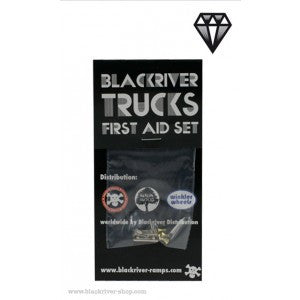 Blackriver Trucks First Aid Set - Single Base Black