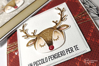 THE REINDEER MINI CARDS