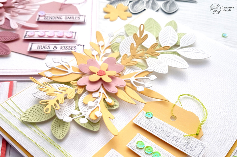 SPRING FLOWERS CARDS