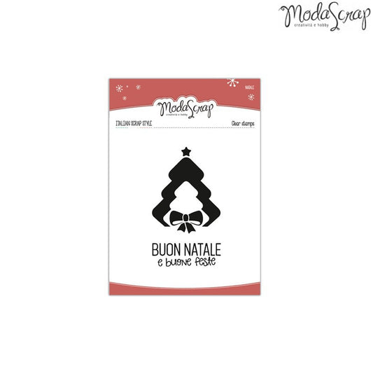 MODASCRAP CLEAR STAMPS MSTC 3-006 - NATALE