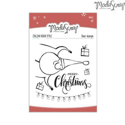 MODASCRAP CLEAR STAMPS MSTC 3-016 - NATALE