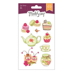 MODASCRAP CLEAR STAMPS MSTC 7-001 - CUCINA WITH LOVE