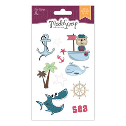MODASCRAP CLEAR STAMPS MSTC 7-004 - SAILOR'S LIFE