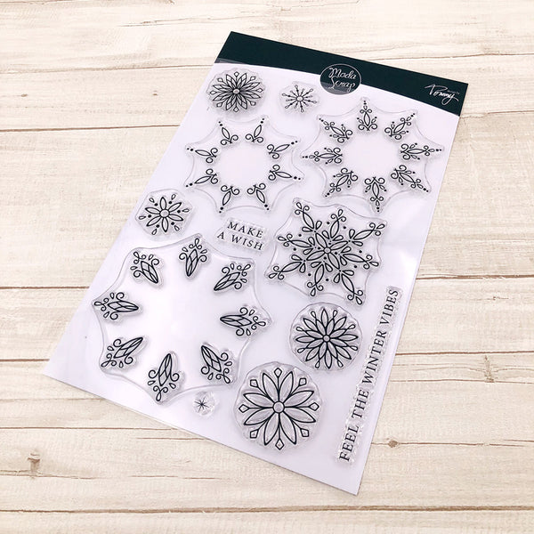 MODASCRAP CLEAR STAMPS - LINEA TOMMY - FIOCCO DI NEVE