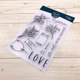 MODASCRAP CLEAR STAMPS - LINEA TOMMY - TI PENSO