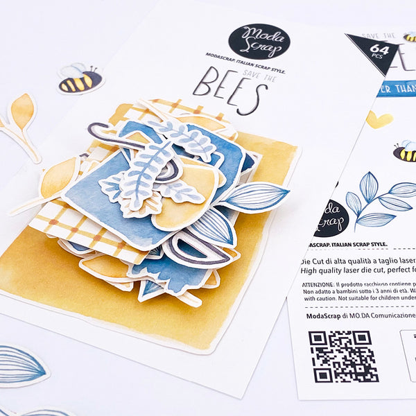 MODASCRAP DIE CUT - SAVE THE BEES
