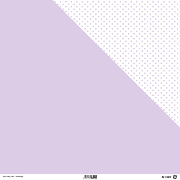 MODASCRAP - PASTEL PURPLE - DOUBLE FACE KIT 20 PZ.