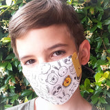 MODASCRAP - THE MASK PAPER - A4 - KIT 10 PZ.