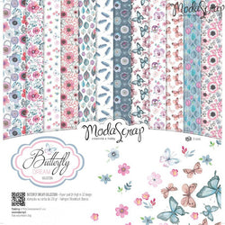 MODASCRAP - PAPER PACK BUTTERFLY DREAM 12x12