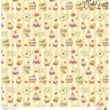 MODASCRAP - PAPER PACK CUCINA WITH LOVE 12x12""