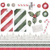 MODASCRAP - PAPER PACK CHRISTMAS ITALIAN STYLE 6x6""