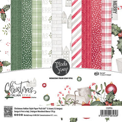 MODASCRAP - PAPER PACK CHRISTMAS ITALIAN STYLE 6x6