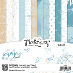 MODASCRAP - PAPER PACK ENJOY THE JOURNEY 6x6
