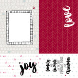 MODASCRAP - PAPER PACK GOOD CHEER FOR CHRISTMAS 6x6""