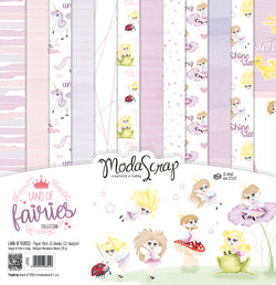 MODASCRAP - PAPER PACK LAND OF FAIRIES 12x12