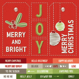 MODASCRAP - PAPER PACK MERRY AND BRIGHT 6x6""