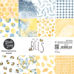 MODASCRAP - PAPER PACK SAVE THE BEES 6x6