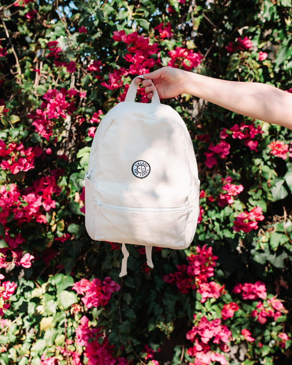 CANVAS BACKPACK - NATURAL