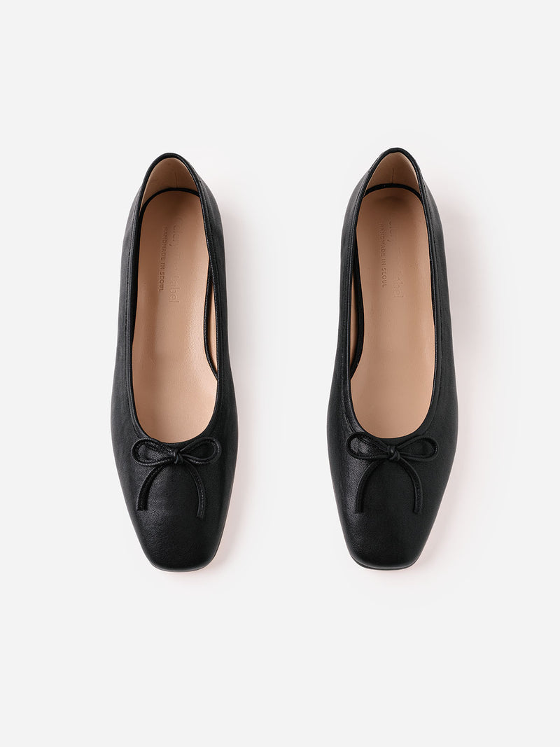 Lucy Ballet Flats - Black