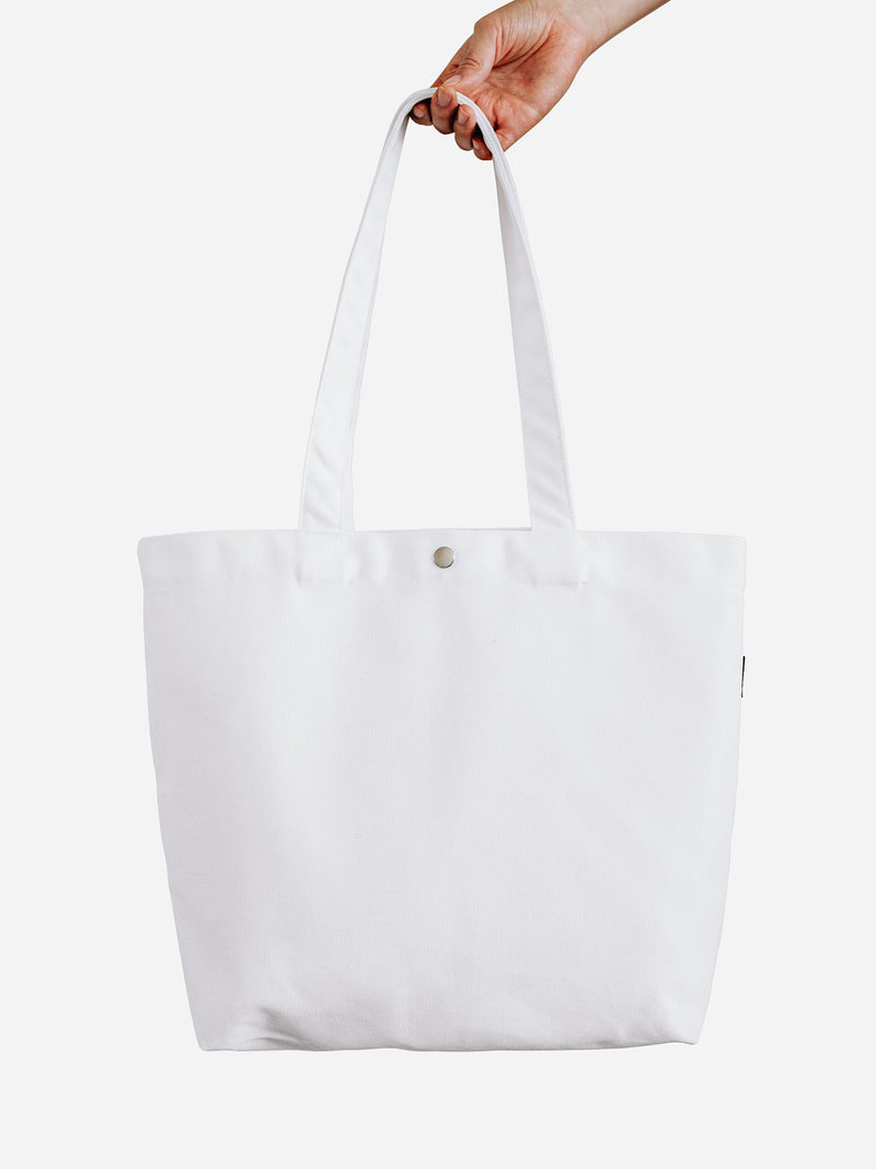 Canvas Tote Bag - White
