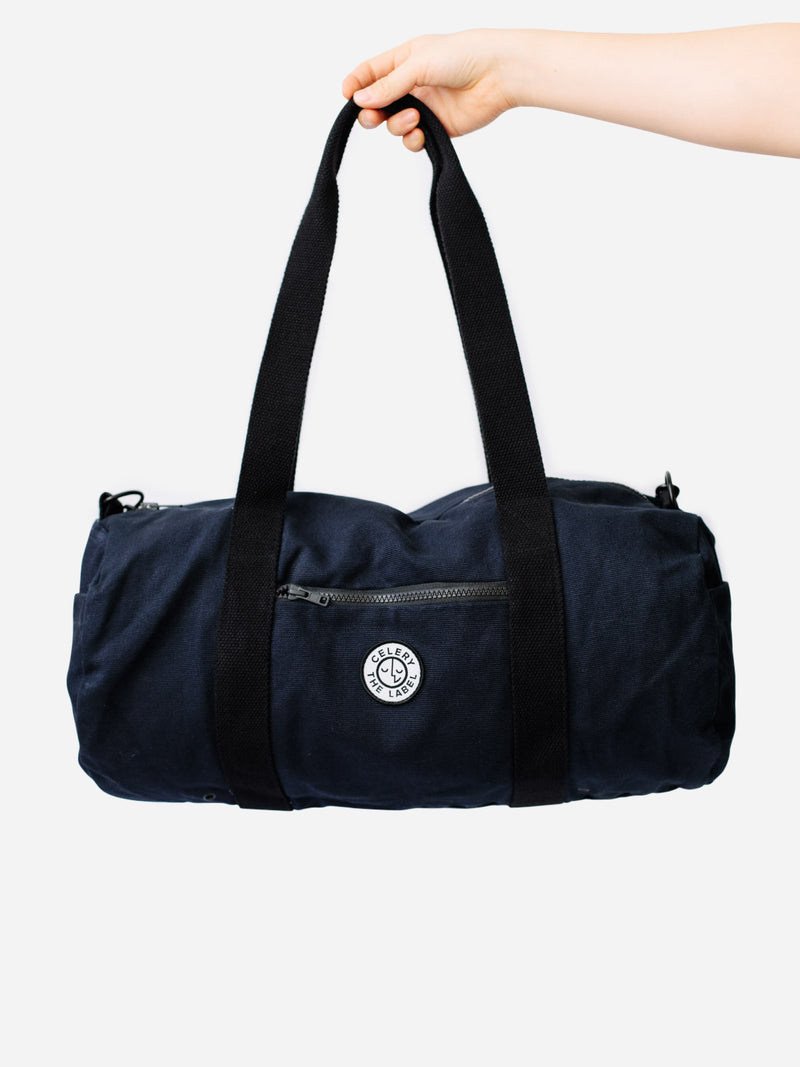 Canvas Duffel - Navy