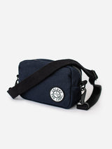 Canvas Side Pouch - Navy