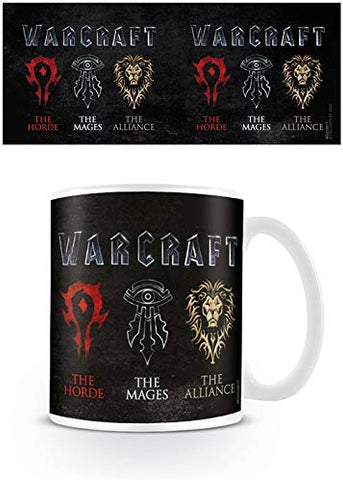 Warcraft Logo Ceramic Mug, Multi-Colour, 7.9 x 11 x 9.3 cm - Urban Species mug