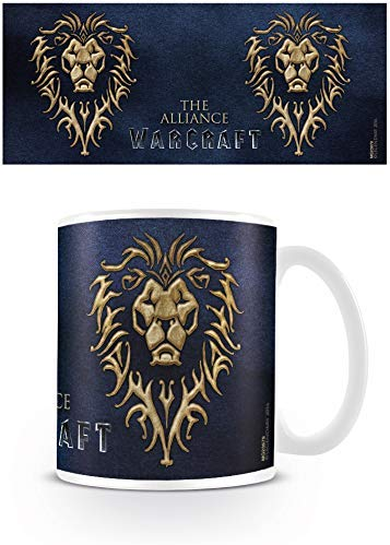 Warcraft The Alliance Ceramic Mug, Multi-Colour, 7.9 x 11 x 9.3 cm - Urban Species MUG