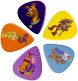 Scooby Doo and the Gang Guitar Plectrum Pick Set