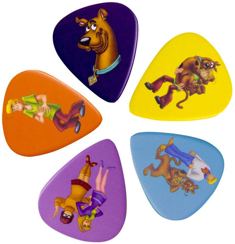 Scooby Doo and the Gang Guitar Plectrum Pick Set - Urban Species